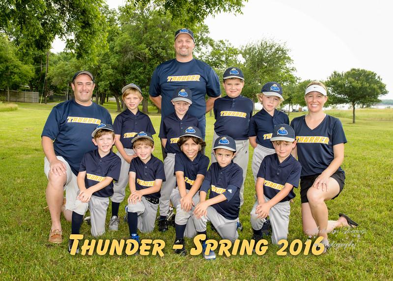 KB SJED Thunder -DCB Spring 2016