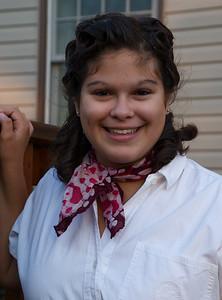2011 10 03: Federica, Vintage Day, Duluth East HS Homecoming Week