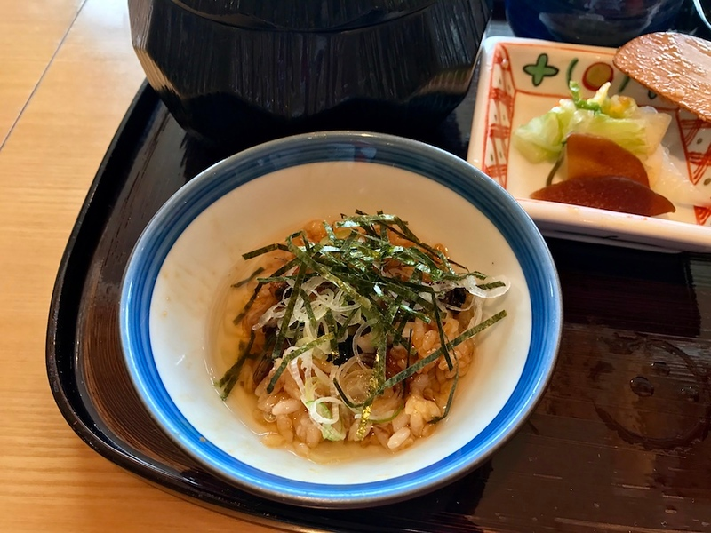 A great way to eat eel.