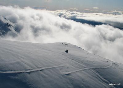 Primer vuelo del año en el Pirineo 1-1-2010