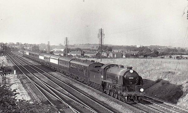 LOCOMOTIVES OF BRITISH RAILWAYS (SOUTHERN REGION)