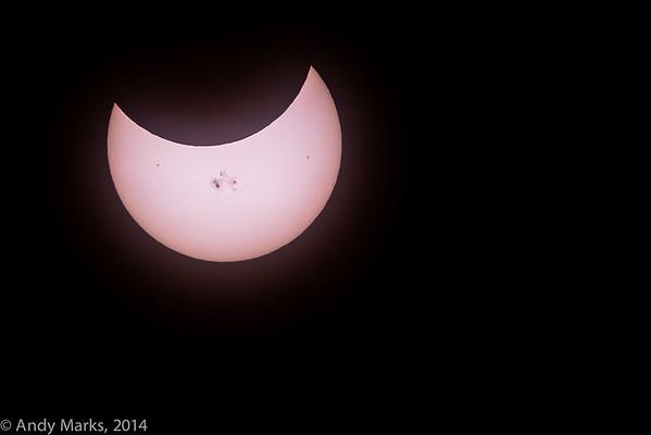 Solar Eclipse 23 Oct 14