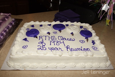 Tracey's 25 Year Class Reunion