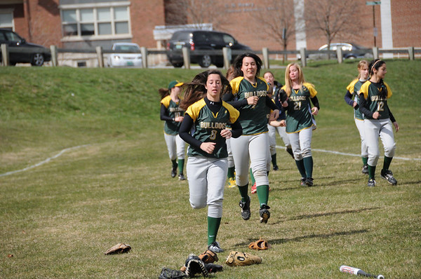 2012 BBA Girls Varsity Softball vs Fair Haven photos by Gary Baker