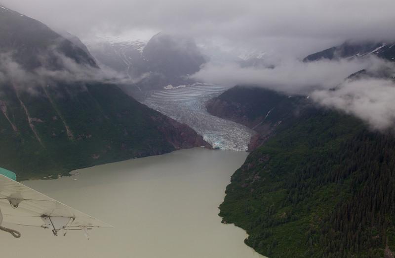 Another unidentified glacier near Juneau.