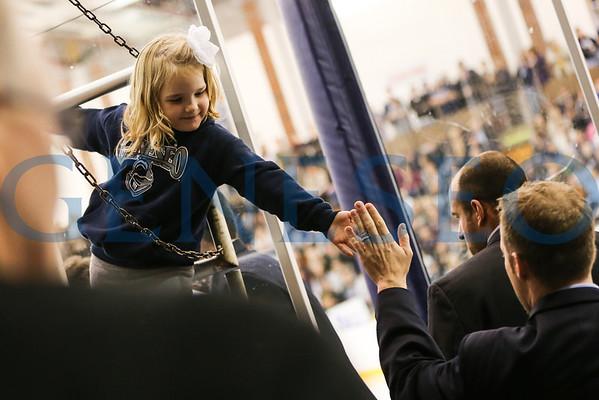 Men's Ice Hockey vs. Nazareth - PHOTOS BY KW