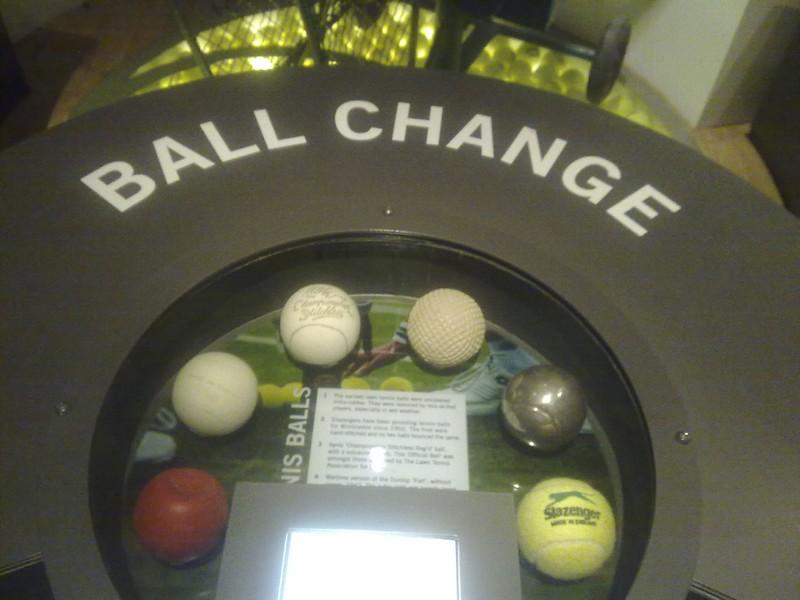 Wimbledon Ball evolution