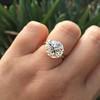 3.86ct Old European Cut Diamond GIA K VS2 39