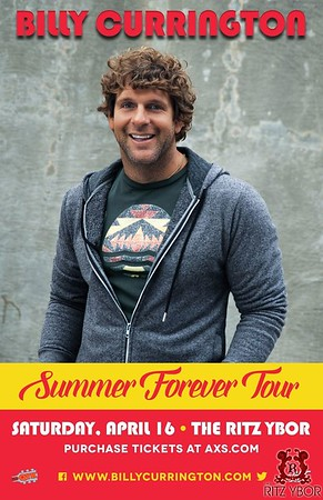 Billy Currington: Summer Forever Tour