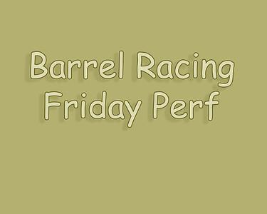 Bow Island 2018 Barrel Racing Friday Perf