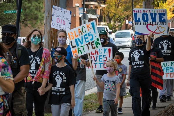 19th Ward Chicago  - Unity March Against Racism - 10/10/20
