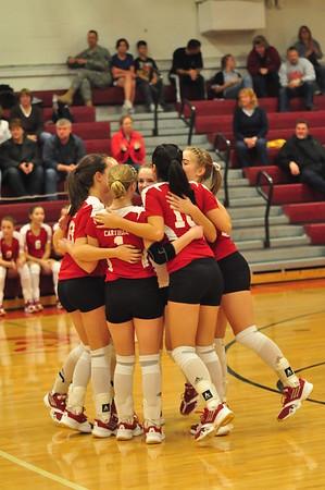 GV Volleyball vs. Camden 11-29-11