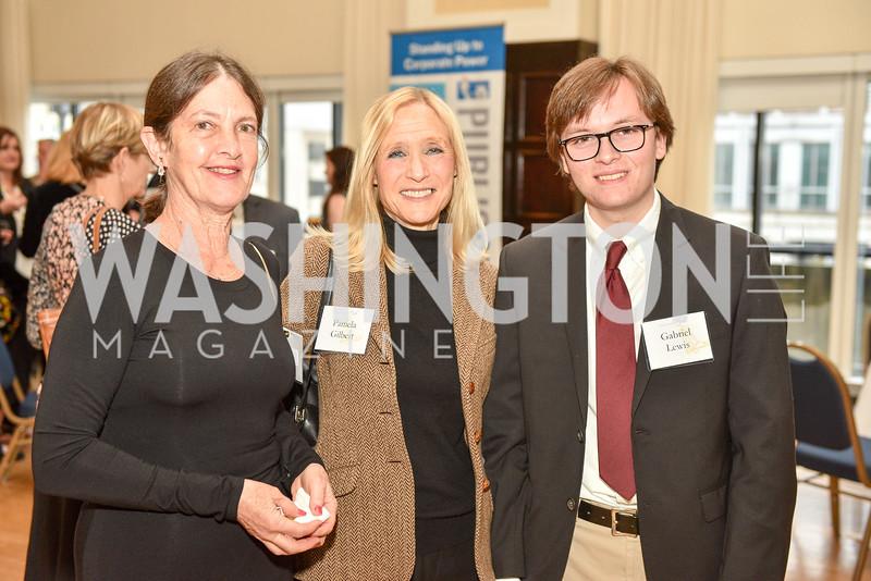 Gloria Black, Pamel Gilbert, Gabriel Lewis, Public Citizen's Gala, National Press Club, April 24, 2018-6371.JPG