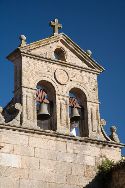 Belfry of San Pablo convent, Caceres, Spain
