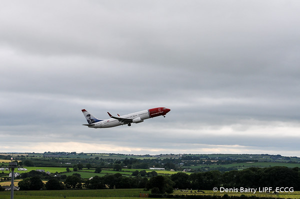 Cork-Providence Inaugural Flight - 01/07/2017