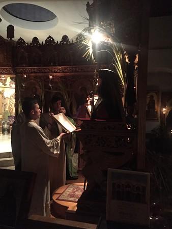 "04.23.16 His Eminence, Metropolitan Demetrius ""Journey to Pascha"""