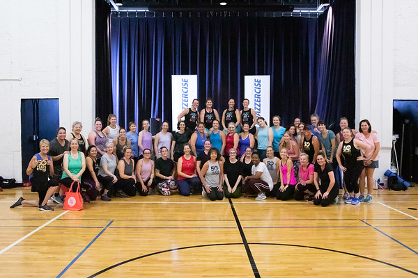 Jazzercise 50th Anniversary Legacy Class - Oct 2019