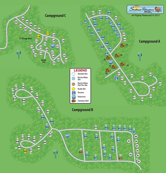 Westmoreland State Park (Campground Maps)