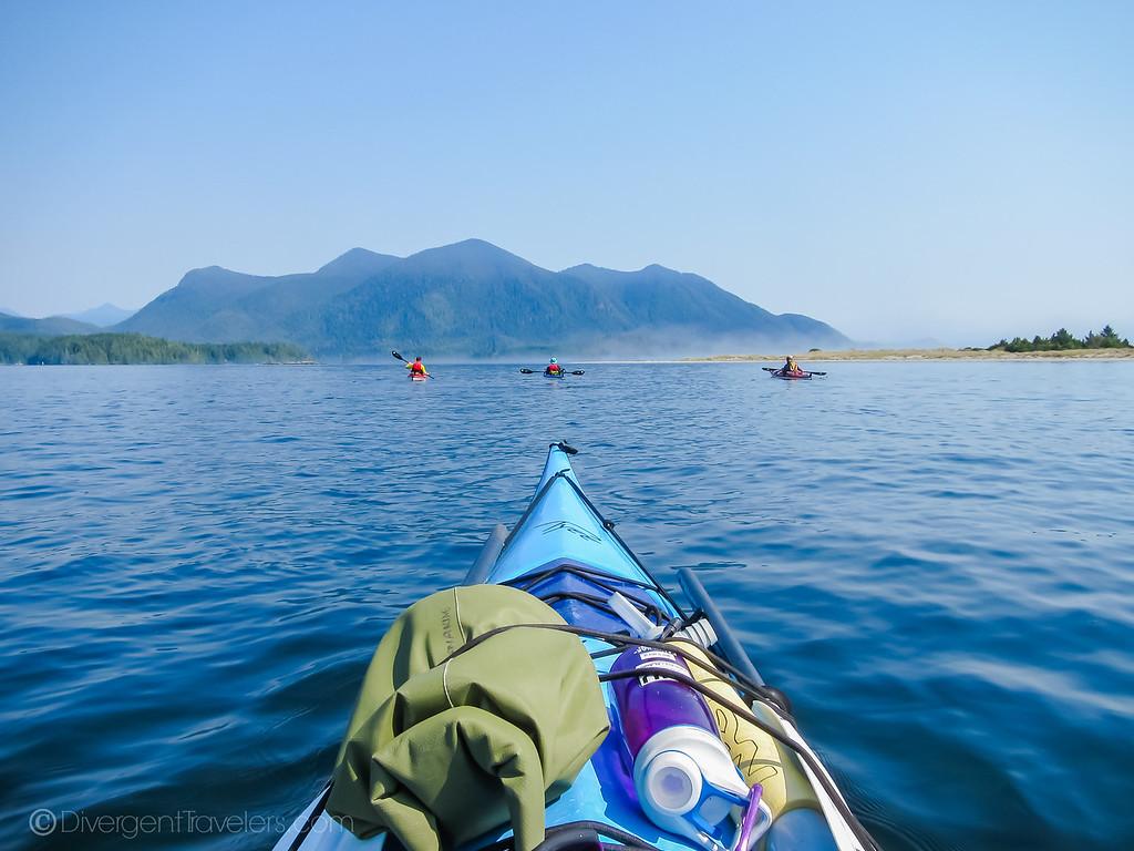 tofino kayaking - Lina Stock