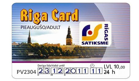 Travel the World - Riga Card