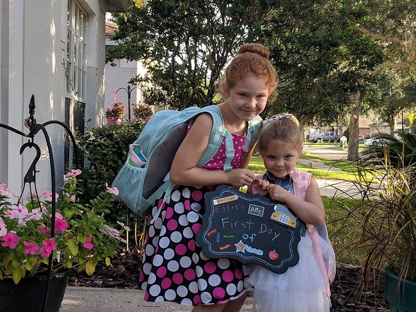 8-First day of school