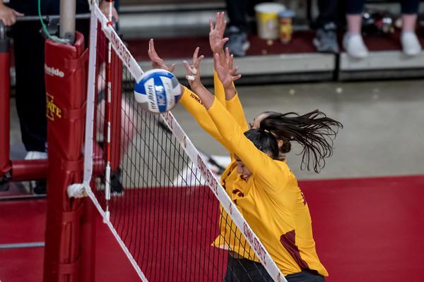 ISU Volleyball vs Texas 10/21/21