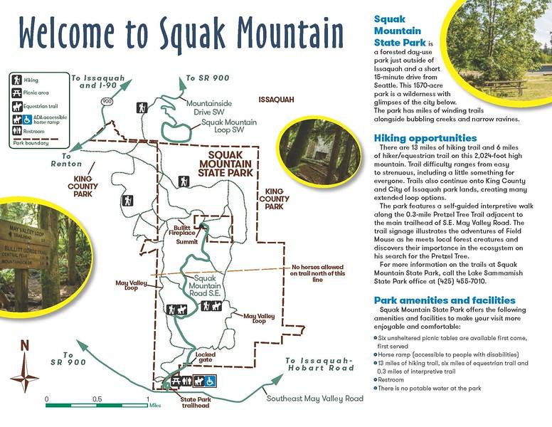 Squak Mountain State Park (Trail Map)