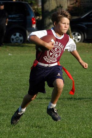 CMS Jr Football 2008 Game 1 vs St. Josephs Eagles Win 32-0