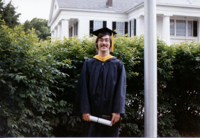 Brian's college graduation.