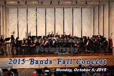 2015 Bands Fall Concert (10-05-15)