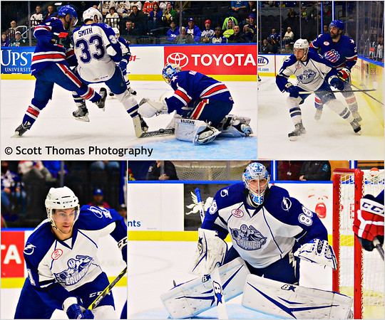Syracuse Crunch game against the Rochester Americans on Friday, October 31, 2014.
