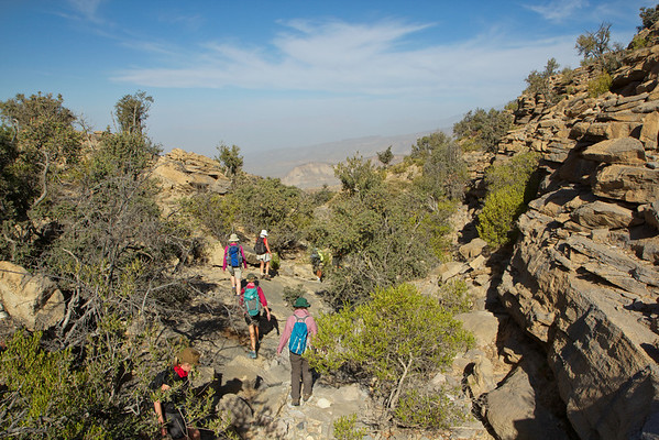 Jebel Akhdar Military Hike