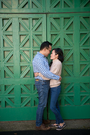 David and Thy''s engagement shoot