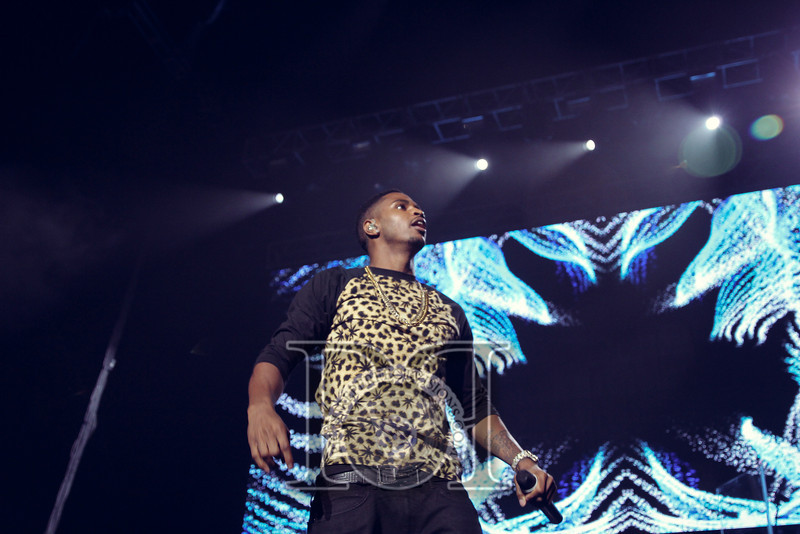 Wild Jam 2013 Nessa, Chris Brown, John Hart, Trey Songs Wild 949 430.jpg