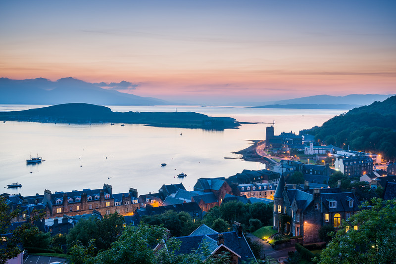 Oban Harbour, Scotland