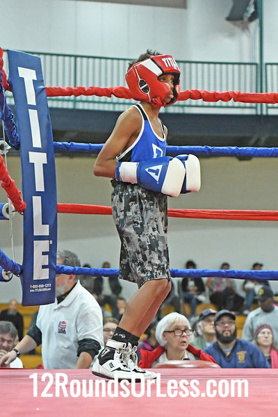 Bout 2 Soaljah Cook, Blue Gloves, Pittsburgh -vs- Jermaine Nix, Red Gloves, East Cleveland,     73 Lbs