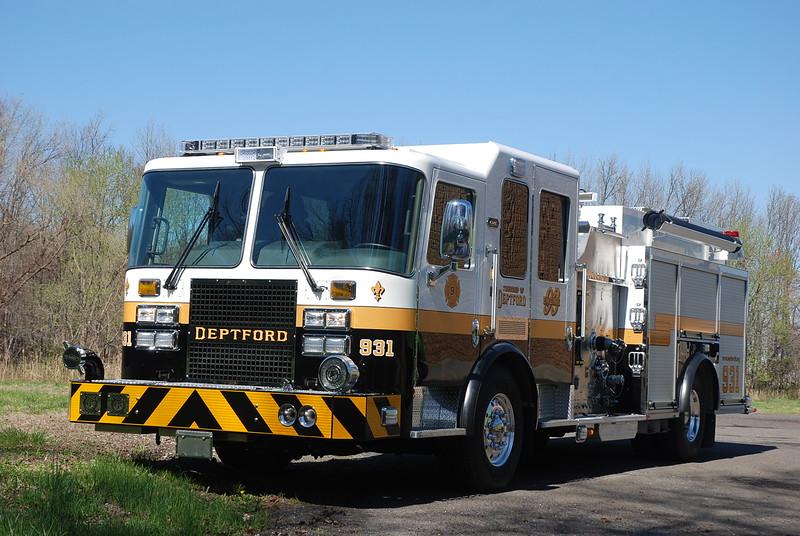 Deptford Fire Department - Battalion 3 - Blackwood Terrace Fire Company - New Engine 931