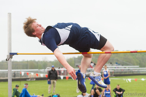 2016-05-11 Hillsdale Academy Varsity Track at Conference Meet at Camden
