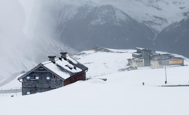 Snowstorm on the Grossglockner