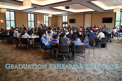 Graduation Rehearsal Breakfast (5/22/2018)