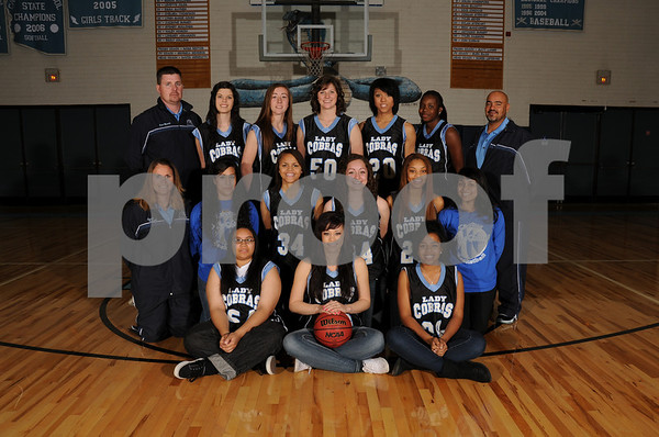 2010-11 CHS Girls Varsity Basketball Team Pics
