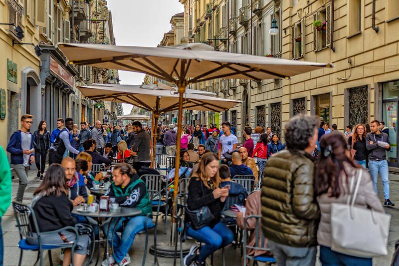 Turin Saturday Afternoon