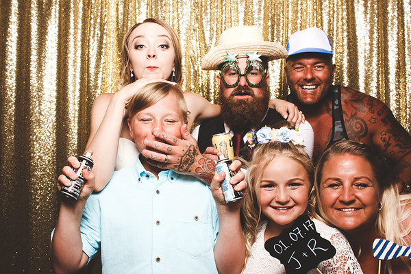 Jessie + Rainer Photo Booth