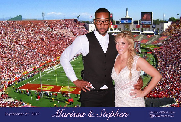 2017-09-02 Marissa and Stephen - Green Screen Photos