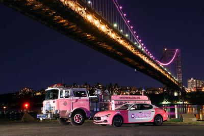 Pink Lights Cancer Awareness Photo Shoot