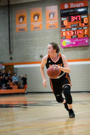 White Bear Lake Girls Varsity Basketball -V- Mahtomedi