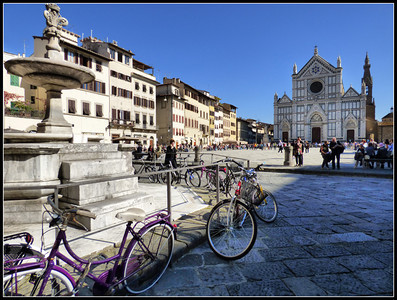 Florence - Santa Croce Church and Square