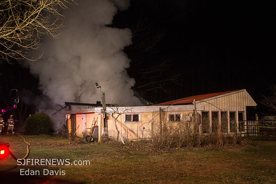 12/21/2019, Structure, Franklin Twp. Gloucester County NJ,  3408 N. Blue Bell Rd.