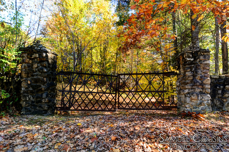 An old rusty gate