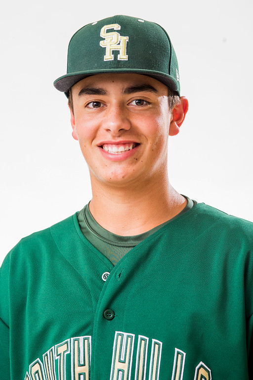 . South Hill High\'s Gavin Velasquez has been selected for the SGV Tribune\'s All-area Baseball Team June 10, 2014.   (Staff photo by Leo Jarzomb/San Gabriel Valley Tribune)